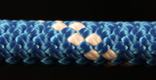 Blue/White Slidedown Tie Down Ropes 7/16 - 33709