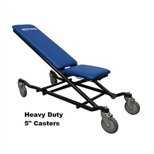 "Aerocreeper w/Heavy Duty 5"" TPU Front Locking Casters - AC1001-HD5L"
