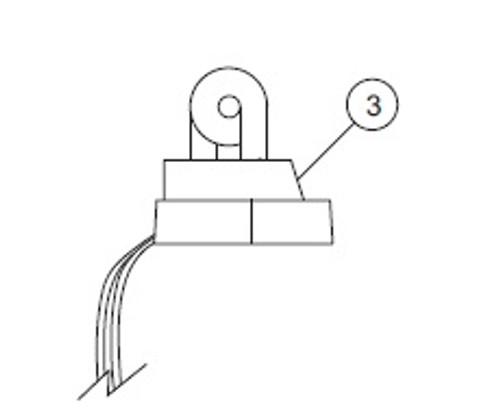 Strobe Flash Tube Assembly - 02-0250274-00
