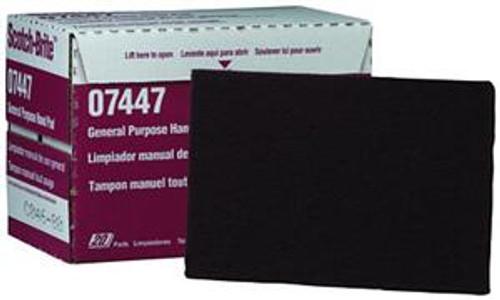 Scotch-Brite General Purpose Hand Pad (1 Box contains 20 pads) - 07447