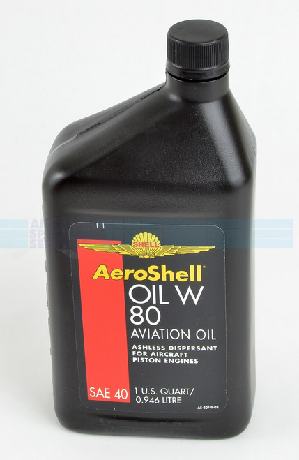 Aeroshell Engine Oil - 80W