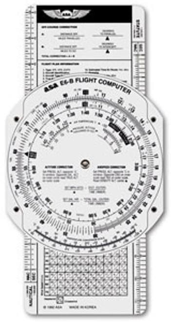 E6-B Paper Flight Computer - ASA-E6B-P