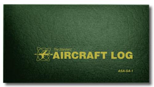 Aircraft Log - Soft Cover - Hunter Green - ASA-SA-1