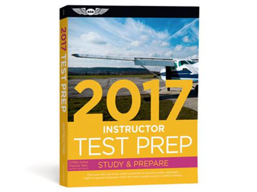 Test Prep 2017 Series - Certified Flight Instructor - ASA-TP-CFI-17