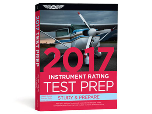 Test Prep 2017 Series - Instrument Rating - ASA-TP-I-17