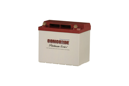 Concorde Aircraft Battery - Platinum Series - RG25XC