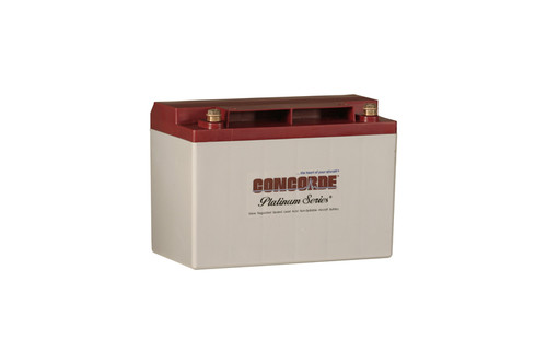 Concorde Aircraft Battery - Platinum Series  - RG35AXC
