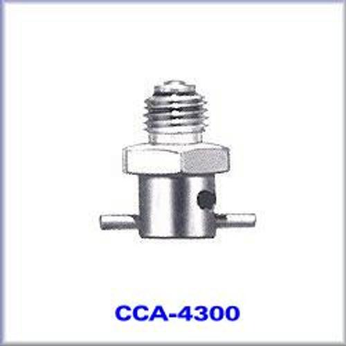 """7/16"""" - 20 NF3 Brass, Cadmium Plated Drain - CCA-4300"""