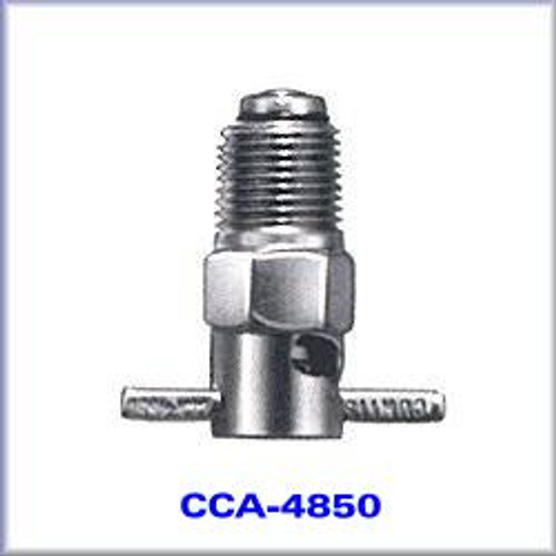 "1/8"" NPT Brass, Cadmium Plated Fuel Drain - CCA-4850"