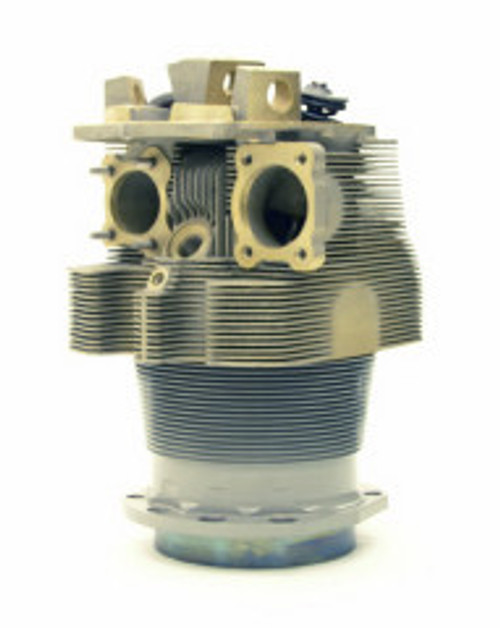 TITAN Cylinder, Continental O-550 Series Engines, Complete Assembly, Nickel Bore, Class 76.3CA