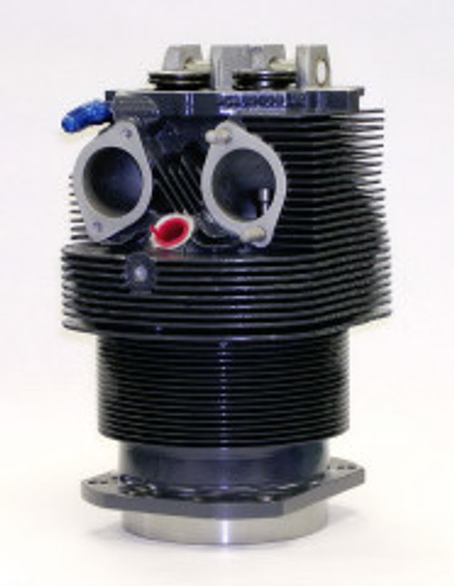 TITAN Cylinder, Lycoming O-360/O-540 Series Engines, Complete Assembly, Steel Bore, Class 12.0