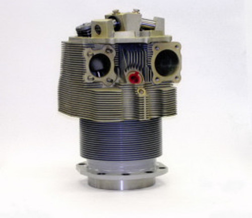 TITAN Cylinder, Continental O-520/O-550 Series Engines, Complete Assembly, Steel Bore, Class 71.4CCA