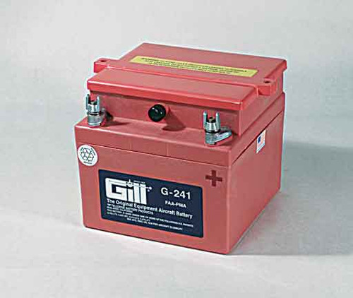 Gill G241 Battery with 3 qts acid - G241D