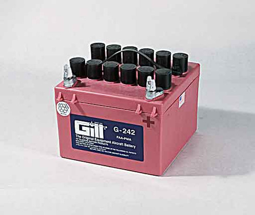 Gill G242 Battery with 3 qts acid - G242D