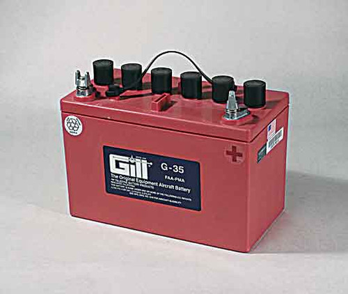 Gill G35 Battery with 3 qts acid - G35D