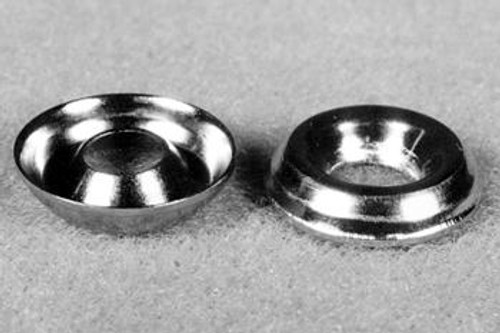 Raised Countersunk Finishing Washers, Size #4  (25 per pack ) - 601-4