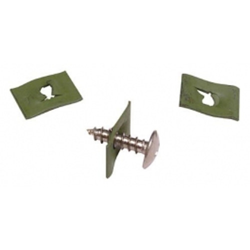 Flat Nut, Size 8 (25 per pack) - A1778-8Z-1