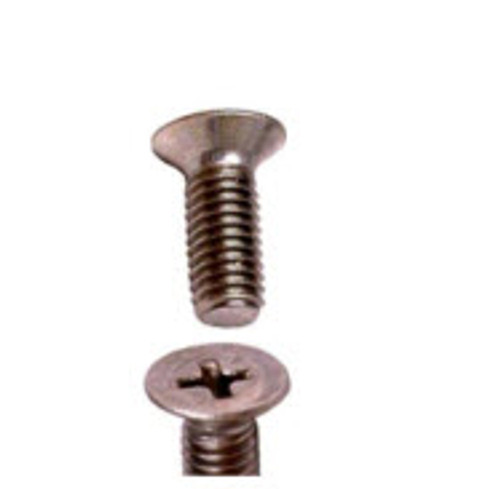 Counter Sunk Flat Head, Length 3/8, Thread 6-32 (100 per pack)  - AN507-6R6