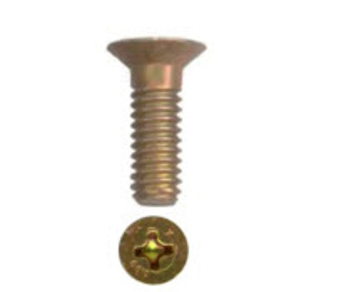 Flat Head-Structural Machine Screw, Length 25/32, Thread Size 10-32 (50 per pack) - AN509-10R12