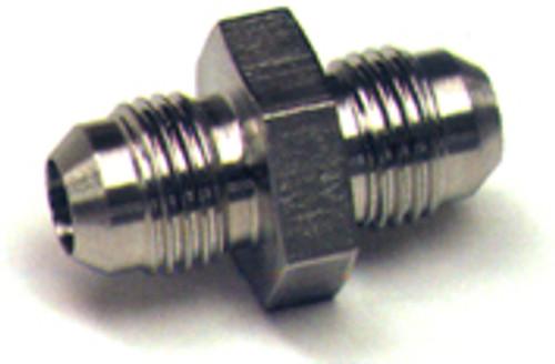 Union Flared Tube Fitting, O.D. 3/8, Thread Size 9/16-18 - AN815-6D