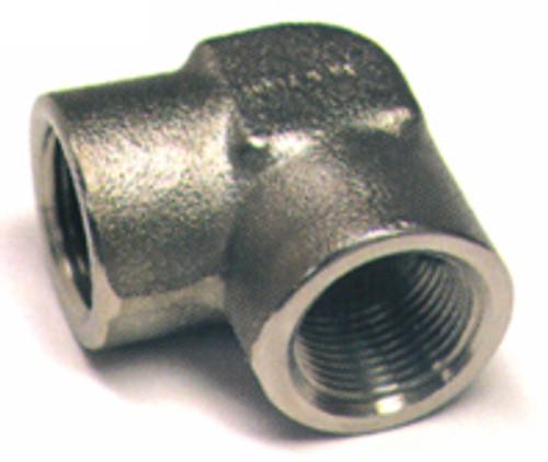 Elbow, Internal Pipe Thread, 90 Degree, Aluminum, Thread Size 1/4 - AN916-2D