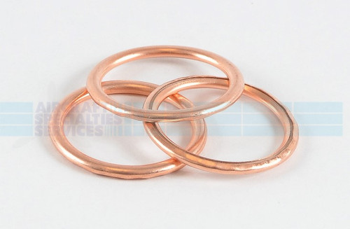 "Copper Gasket (Crush Washer), ID 1"", OD 1-1/4"" (AN900-16) (5 per pack) - MS35769-21"