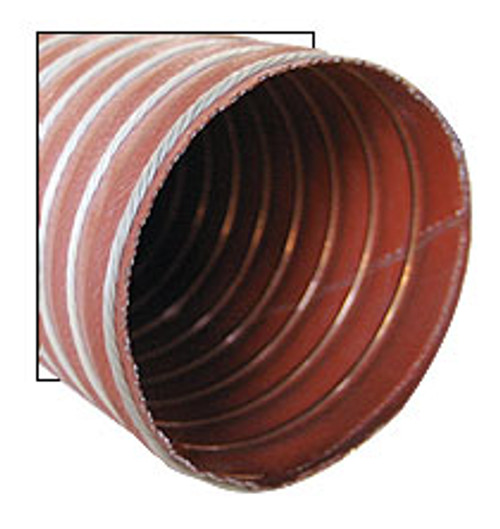 "Aeroduct Red 1-1/2"" diameter (sold by the foot, 11ft maximum) - SCAT-6"