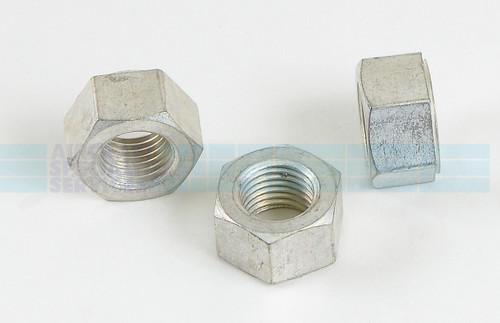 Nut - .375-24 Plain - STD-596, Sold Each