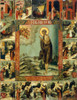 St. Mary of Egypt Icon with Scenes