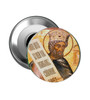 Pick-Your-Saint Round Icon Magnets:  Set of 50- TWO SIZES AVAILABLE