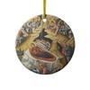 Nativity Icon Ceramic Ornament