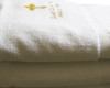Embroidered Baptismal Towel (Bath Size): God Grant You Many Years