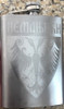 Engraved Stainless Steel 8oz Hip Flask: House of Nemanjic