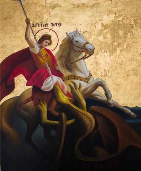 St. George Icon- Icon VII