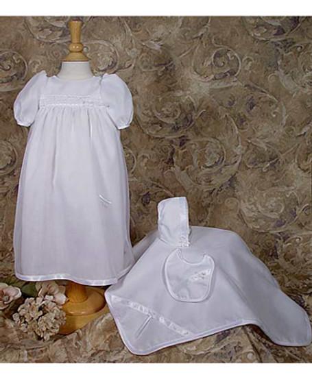 5 pc Organza Preemie Baptismal Set