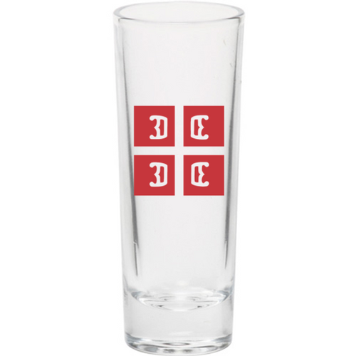 4Cs Serbian Style Shooter Glass- Set of 4