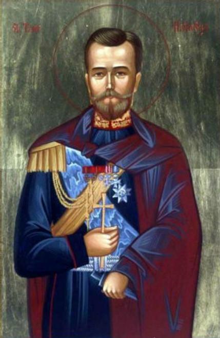 St.Tsar Nicholas II Icon- Icon II