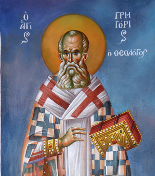 St. Gregory the Theologian Icon- Icon II