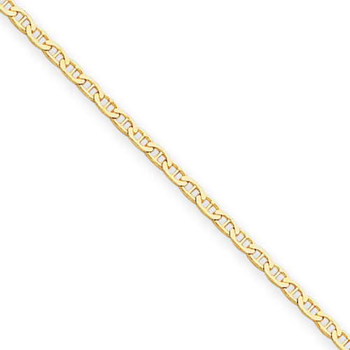 14KT 1.5mm Anchor Link Chain- Various Lengths