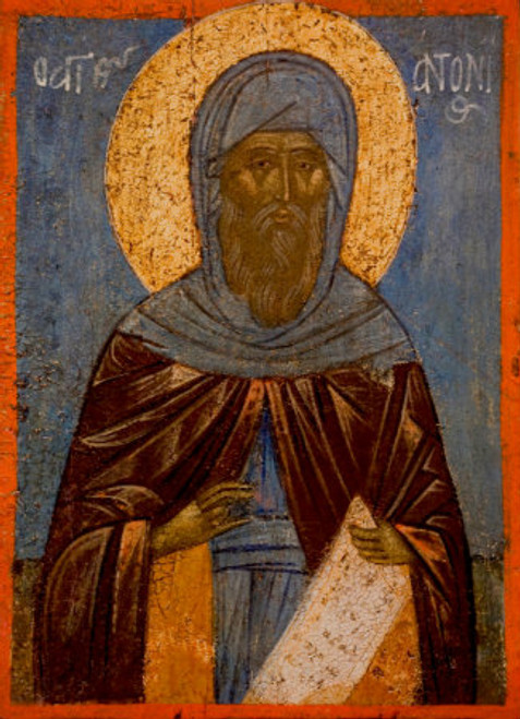 St. Anthony the Great Icon- Icon VI