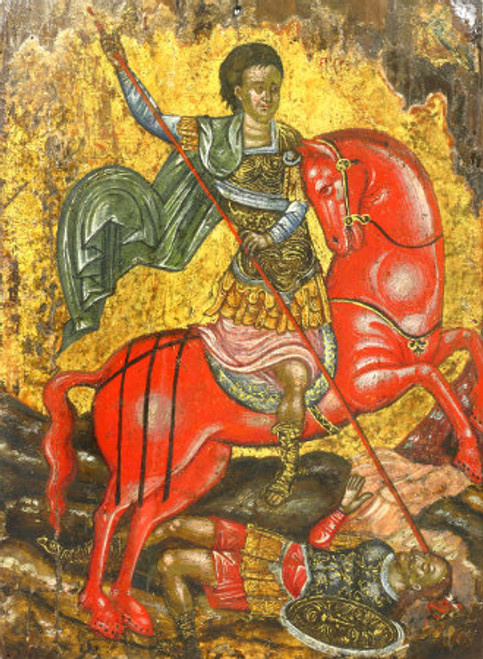 St. Demetrios Icon- Icon V