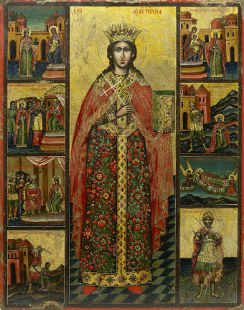 St. Katherine the Great Icon- Icon V