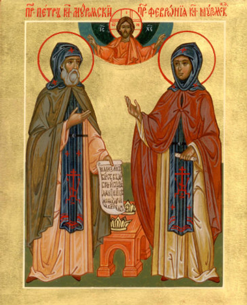 Ss. Peter and Febronia Icon