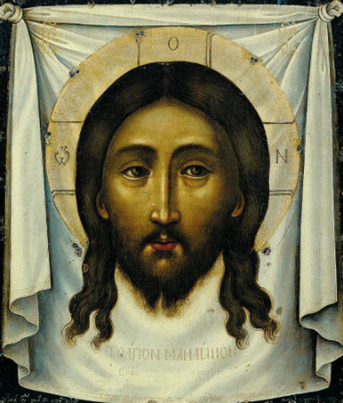 """Icon of Christ """"Not Made With Hands"""""""