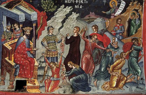 Slaughter of the Holy Innocents Icon