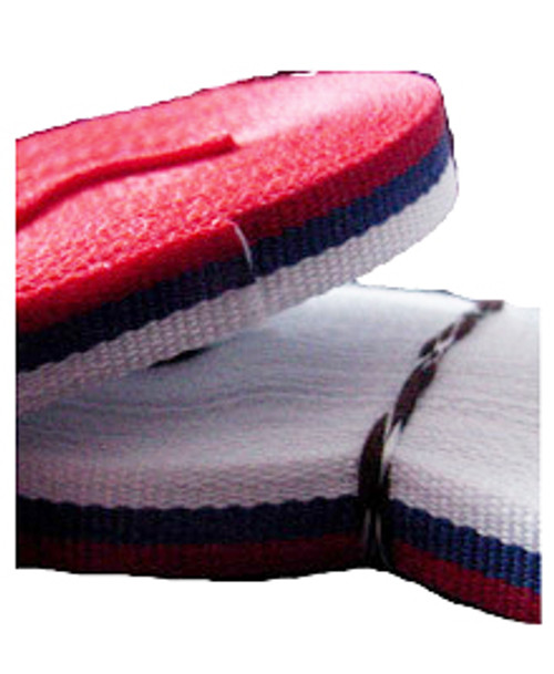 "Tri-Colored Trobojka Ribbon-  3/8"" W (one yard length)"
