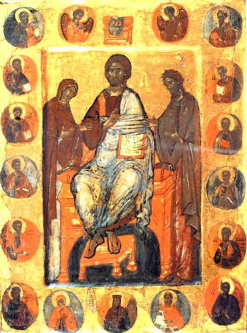 Christ Deisis Icon
