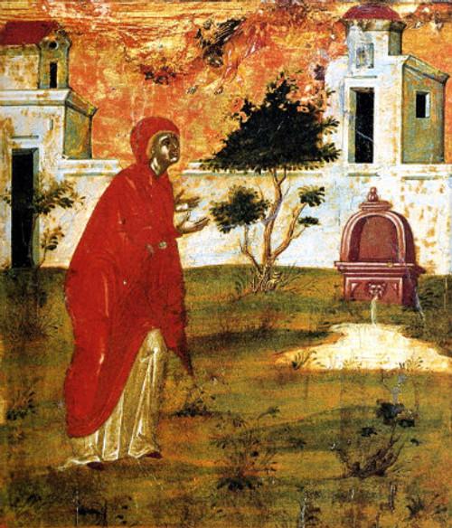 Righteous Anna (Mother of the Theotokos) Icon- Icon III