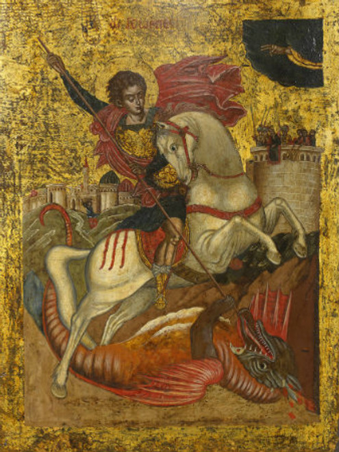St. George Icon- Icon VIII