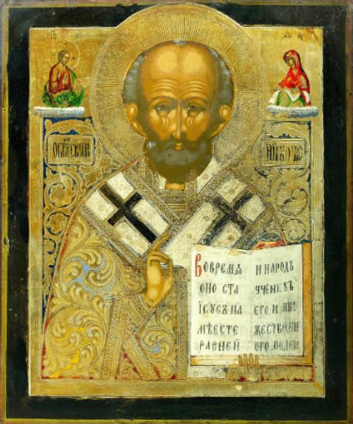 St. Nicholas Icon- Icon III